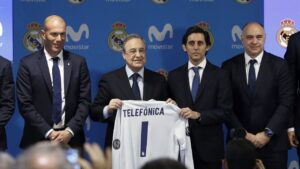 Movistar 'Connecting Partner' del Real Madrid C.F | Imagenacion