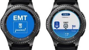 Samsung y EMT Madrid renuevan su app para relojes inteligentes   Imagenacion