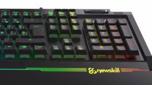 Newskill AURA, el teclado con 16,8 millones de colores de retroiluminación RGB   Imagenacion