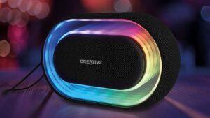 Creative Halo, música y luces en un altavoz   Imagenacion