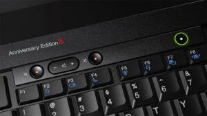 Lenovo celebra los 25 años del Thinkpad, con una edición limitada | Imagenacion