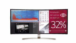 Monitores Ultrawide de LG, un 32 % más de pantalla | Imagenacion