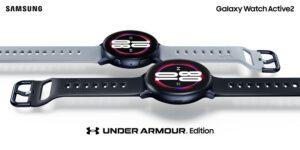 De la alianza de Samsung y Under Armour nace el Galaxy Watch Active2 Under Armour Edition | Imagenacion