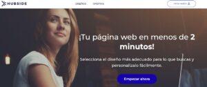 HUBSIDE llega a España, crea tu web fácilmente sin conocimientos técnicos | Imagenacion