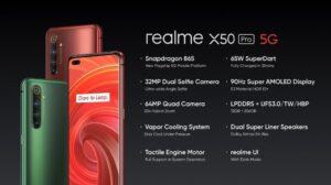 realme X50 Pro 5G, un potente dispositivo con Snapdragon 865 | Imagenacion