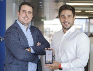 Daniel Batlle y Manuel Berja, fundadores Alfred Smart Systems