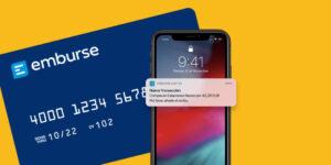 Las nuevas tarjetas corporativas integradas de EMBURSE con control de gastos en tiempo real | Imagenacion